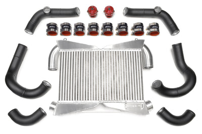 STM R35 GTR FMIC Intercooler Kit - Wrinkle Black