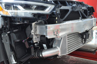 Audi RS3 Intercooler Installed with Crash Bar