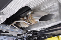 Audi RS3 Exhaust Turn Down Installed