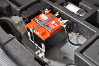 Audi RS3 Lightweight Battery Kit Installed Mounting Points