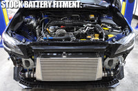 STM 2015-2017 Subaru WRX FMIC Install with Stock Battery