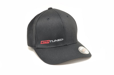 STM Tuned Black/Red FlexFit Hat