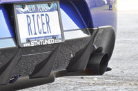 STM Ricer Evo JDM rear bumper, Voltex guard and titanium exhaust