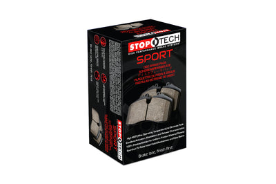 StopTech Sport Brake Pads for Evo 5/6/7/8/9/X