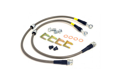 StopTech Stainless Brake Lines for Evo 4-9 Front (950.46005)