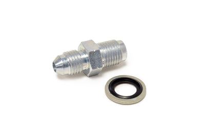 TechnaFit Turbo Oil Inlet Fitting with Washer for Mitsubishi (-4AN to 12mm x 1.25)