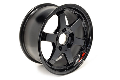 Volk TE37 SL Gloss Black Set of 4 Wheels