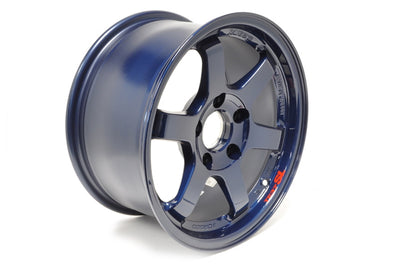 Volk TE37 SL Mag Blue Wheels