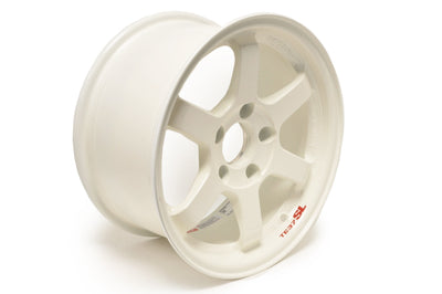 Volk TE37 SL White Wheels