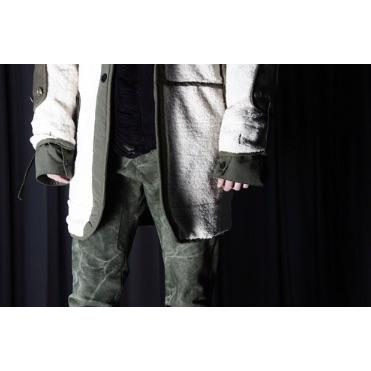 Fleece Jacket - Aesthetic Homage  | Techwear | Noragi | Lhamo | Men's Kimono