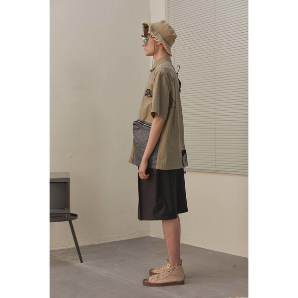 Jungle Pocket Tee - Aesthetic Homage  | Techwear | Noragi | Lhamo | Men's Kimono