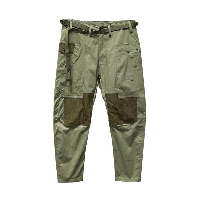 SFO-100 Two-Tone Pants - Aesthetic Homage  | Techwear | Noragi | Lhamo | Men's Kimono