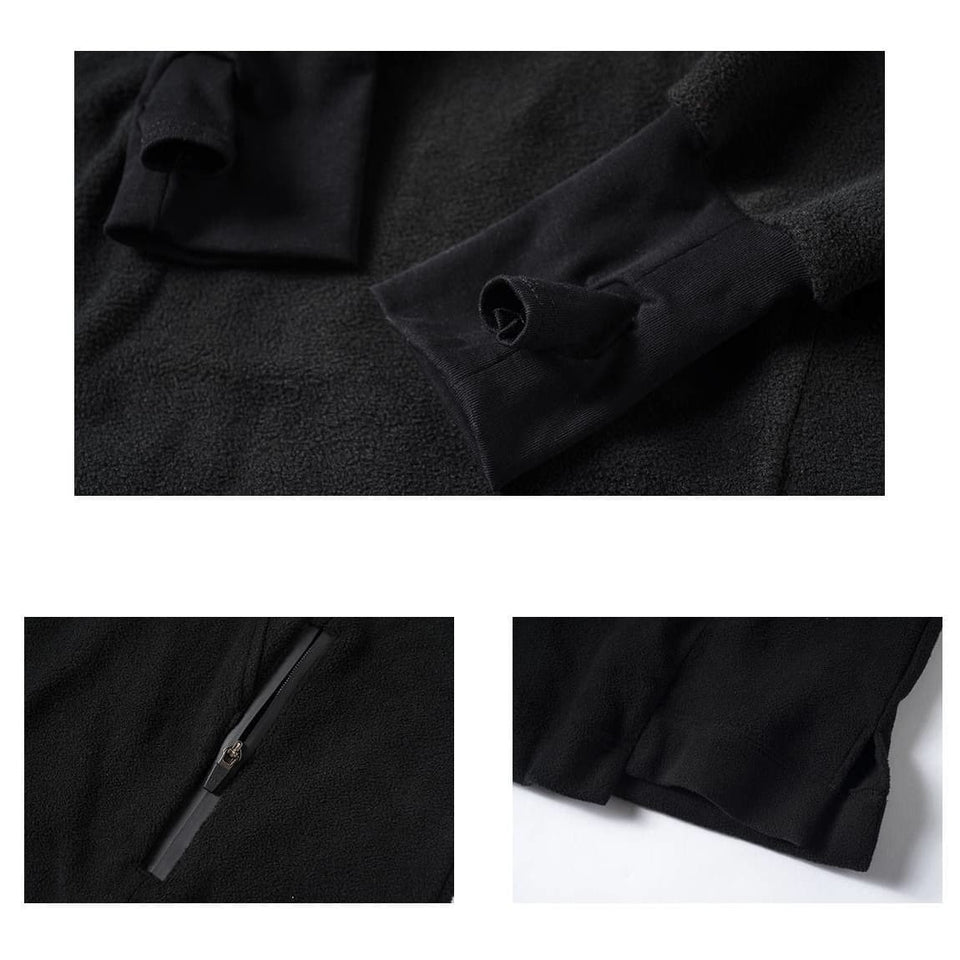 EDR-0374 Polar Fleece Turtleneck - Aesthetic Homage  | Techwear | Noragi | Lhamo | Men's Kimono