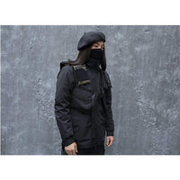 Tactical Vest Backpack - Aesthetic Homage  | Techwear | Noragi | Lhamo | Men's Kimono