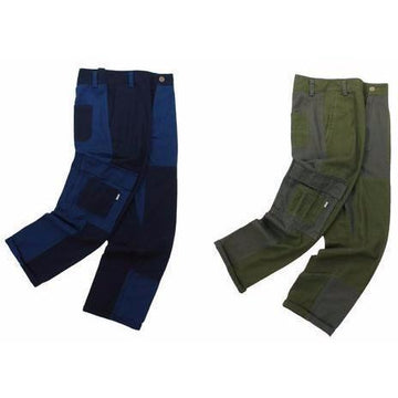 Patchwork Military Cargos