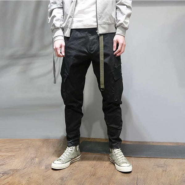 SFO-102 Commuter Cargo Pants - Aesthetic Homage  | Techwear | Noragi | Lhamo | Men's Kimono