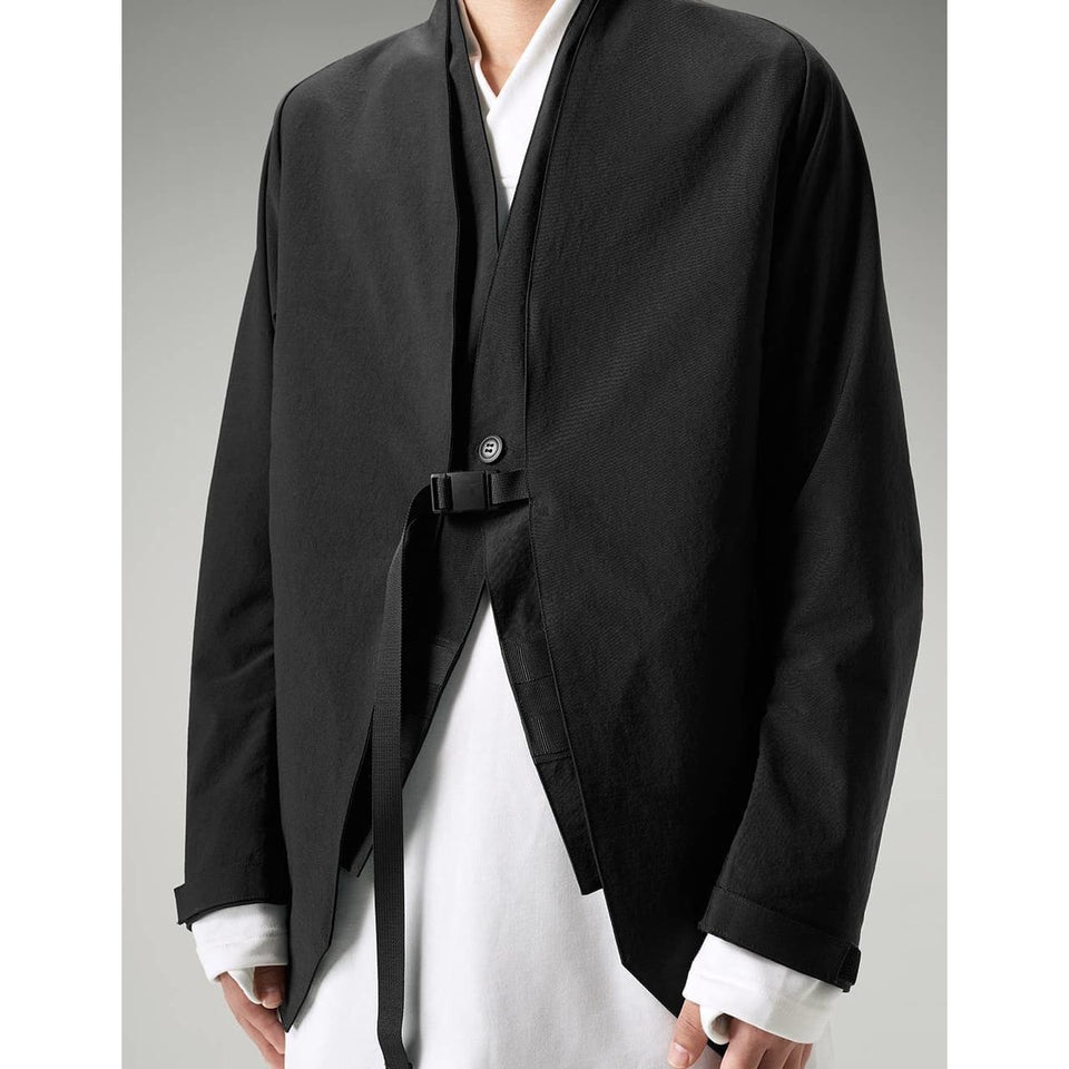 Two Piece Scout Blazer - Aesthetic Homage  | Techwear | Noragi | Lhamo | Men's Kimono