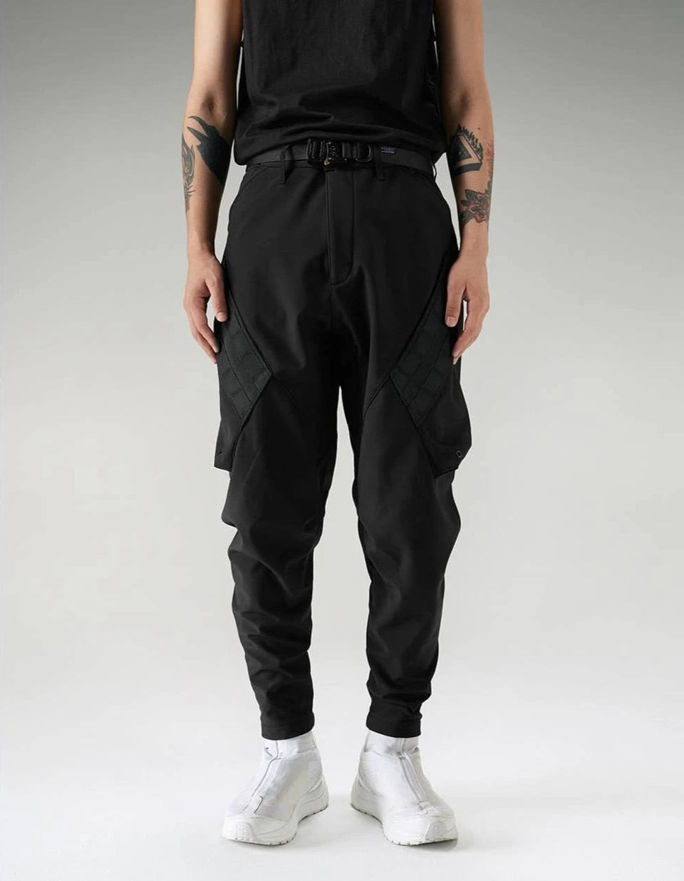 Softshell City Pants - Aesthetic Homage  | Techwear | Noragi | Lhamo | Men's Kimono