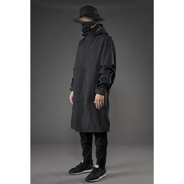 PT-1902 Long Windbreaker - Aesthetic Homage  | Techwear | Noragi | Lhamo | Men's Kimono