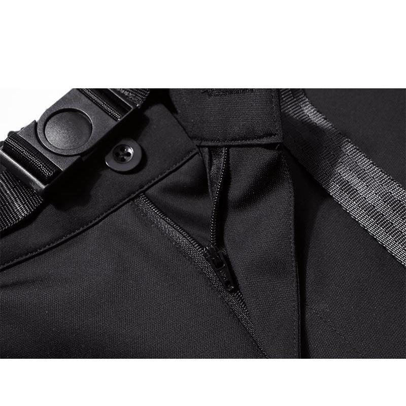 Splicing Worker Shorts - Aesthetic Homage  | Techwear | Noragi | Lhamo | Men's Kimono