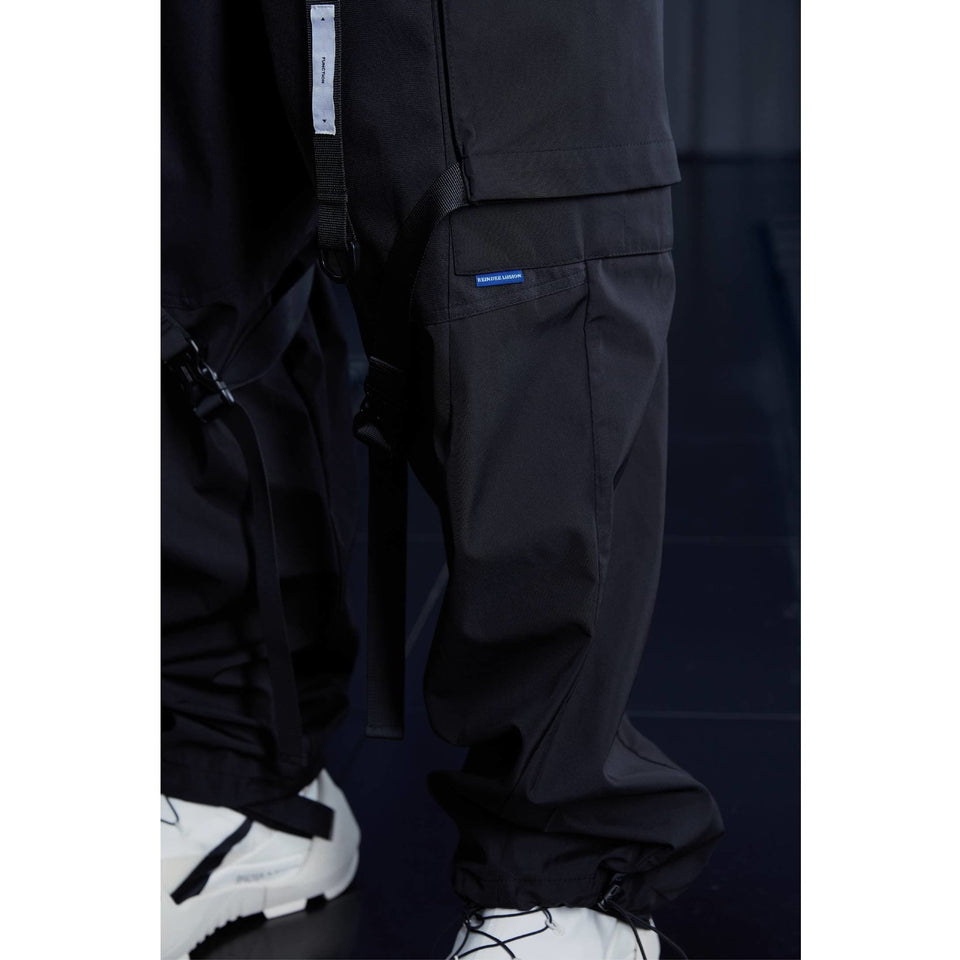 Outdoor Adjustable Baggy Pants - Aesthetic Homage  | Techwear | Noragi | Lhamo | Men's Kimono