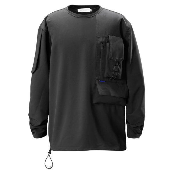 Commuter Sweater - Aesthetic Homage  | Techwear | Noragi | Lhamo | Men's Kimono