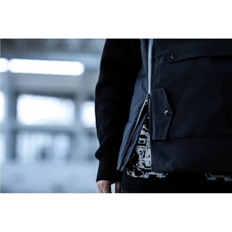 EDR-0365 Tactical Winter Vest - Aesthetic Homage  | Techwear | Noragi | Lhamo | Men's Kimono