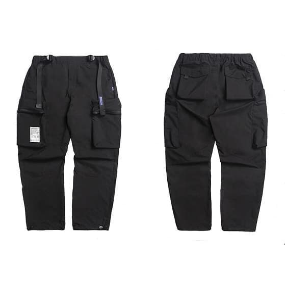 Cyber Tactical Cargo Pants - Aesthetic Homage  | Techwear | Noragi | Lhamo | Men's Kimono