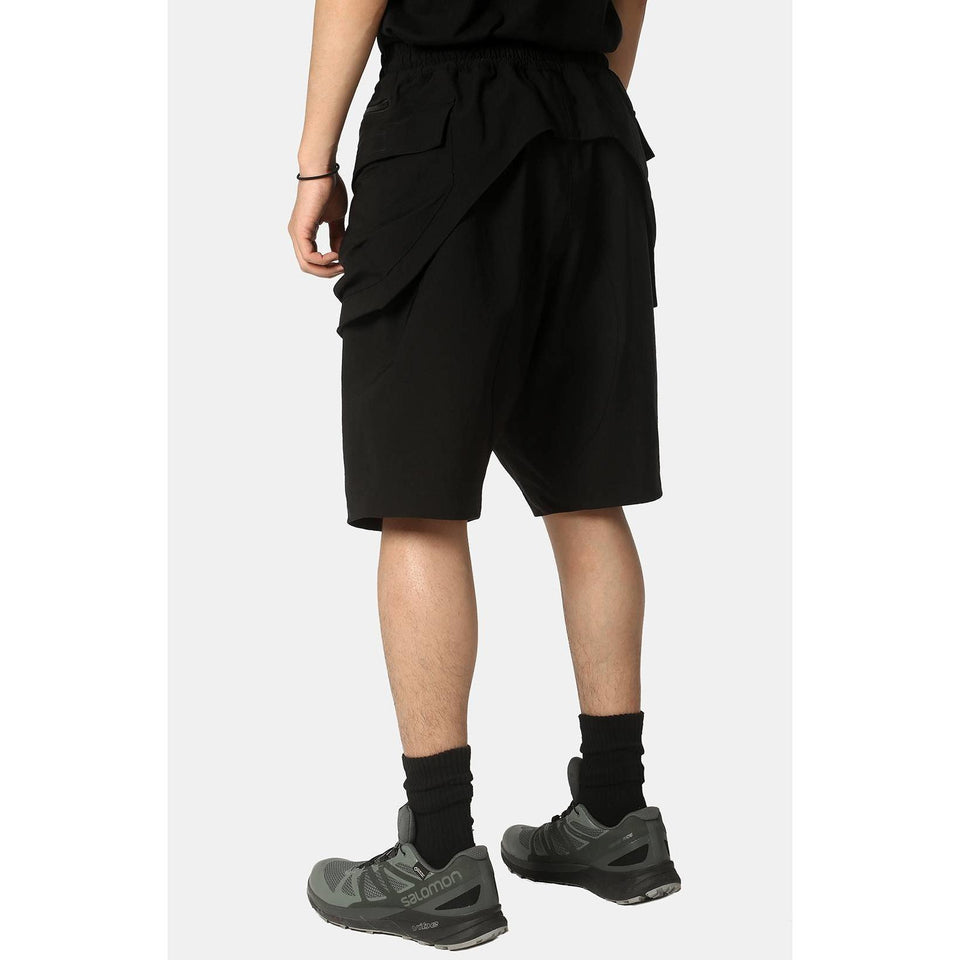 NS-201 Commuter Shorts - Aesthetic Homage  | Techwear | Noragi | Lhamo | Men's Kimono