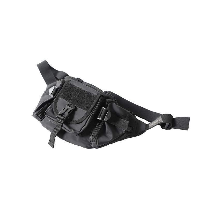 Stealth Shoulder Bag - Aesthetic Homage  | Techwear | Noragi | Lhamo | Men's Kimono