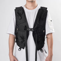 PT-823 Heavyweight Chest Rig - Aesthetic Homage  | Techwear | Noragi | Lhamo | Men's Kimono