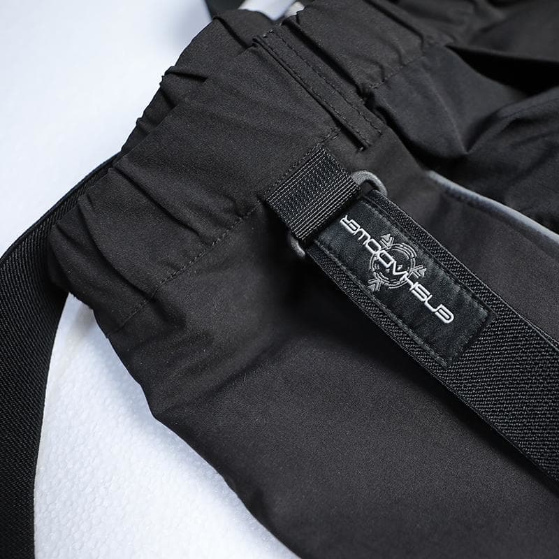 EDR-0331 Tactical Samurai Trousers - Aesthetic Homage  | Techwear | Noragi | Lhamo | Men's Kimono