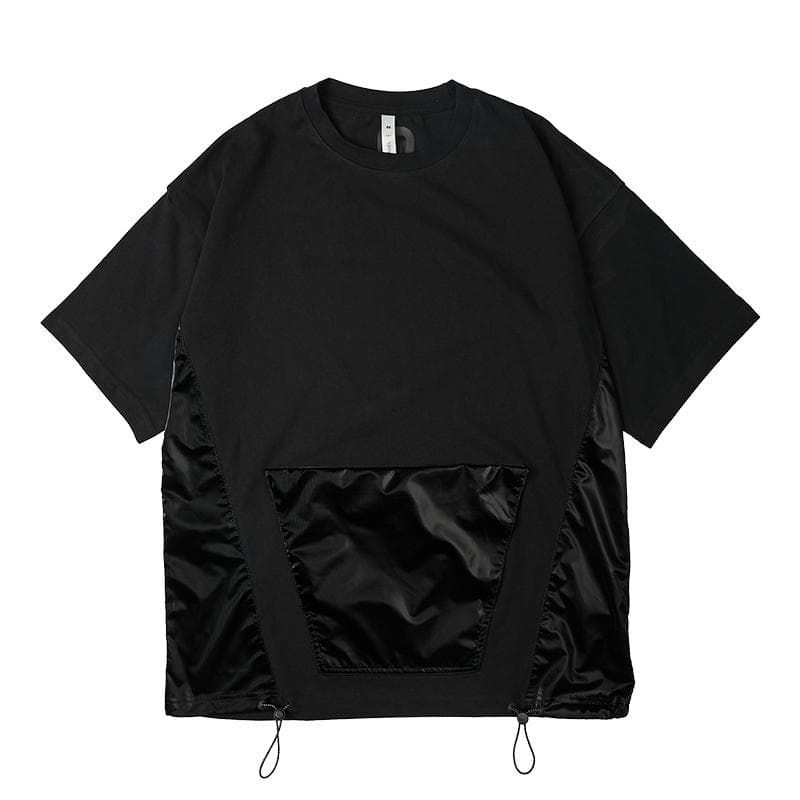 Drawstring Pocket T-Shirt