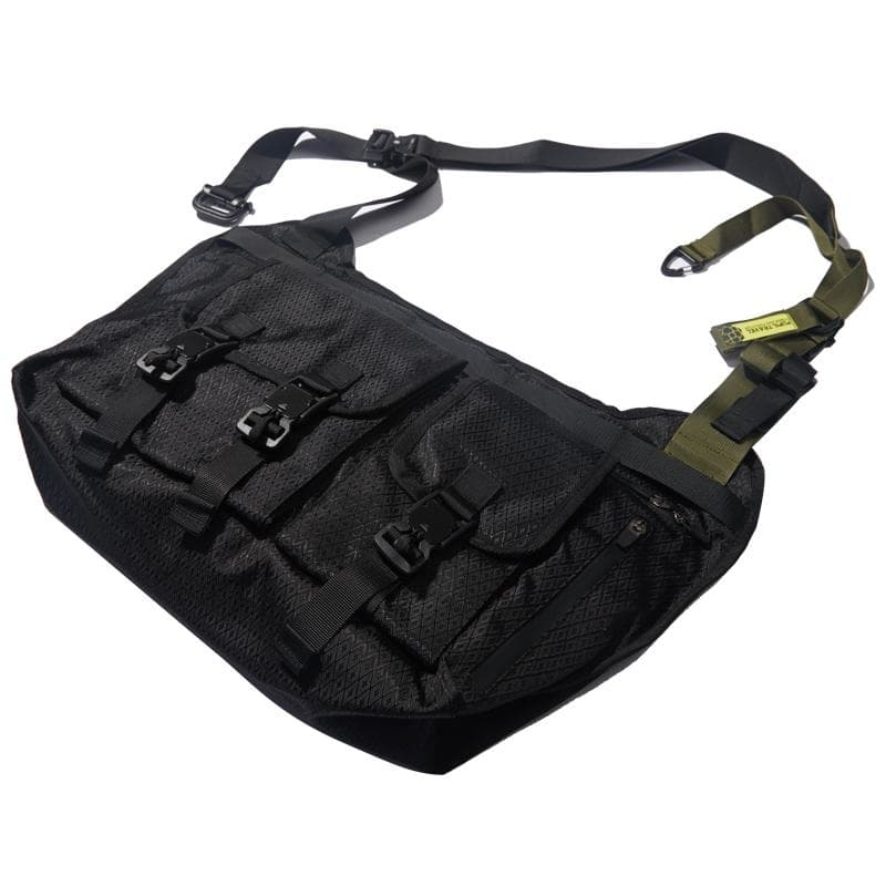 FOG-B01 Shoulder Bag - Aesthetic Homage  | Techwear | Noragi | Lhamo | Men's Kimono