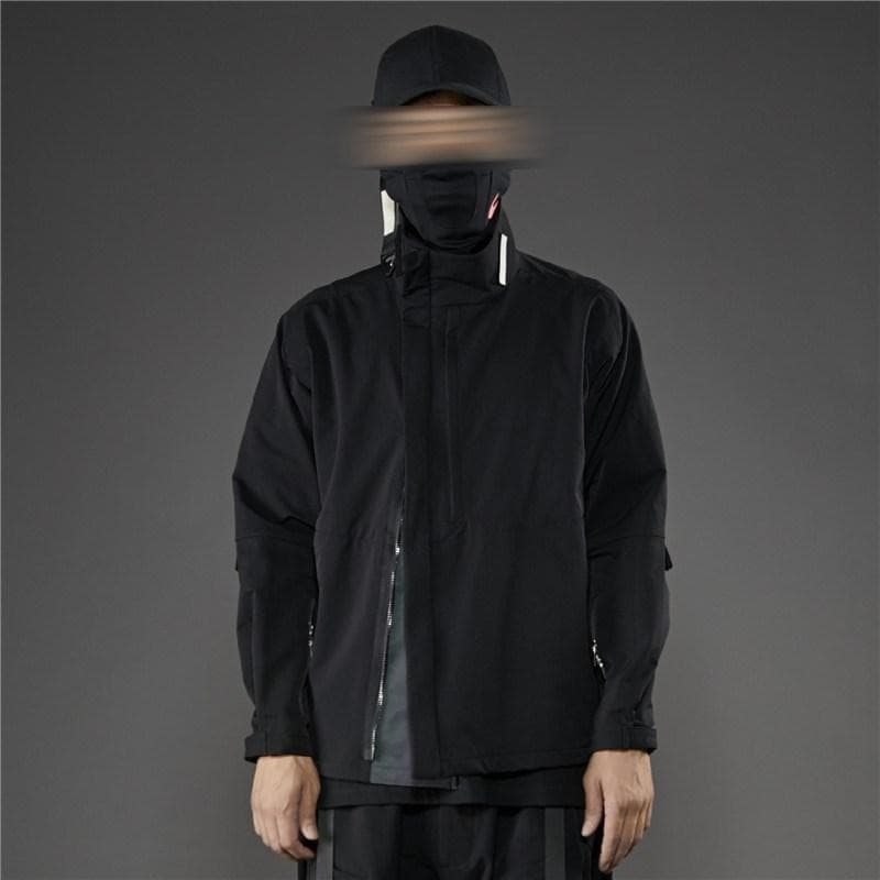 PT-1923 Commuter Windbreaker - Aesthetic Homage  | Techwear | Noragi | Lhamo | Men's Kimono