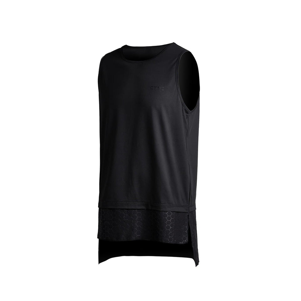Double Layer Honeycomb Tank - Aesthetic Homage  | Techwear | Noragi | Lhamo | Men's Kimono