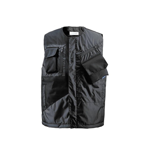Chill-Proof Waist Coat - Aesthetic Homage  | Techwear | Noragi | Lhamo | Men's Kimono