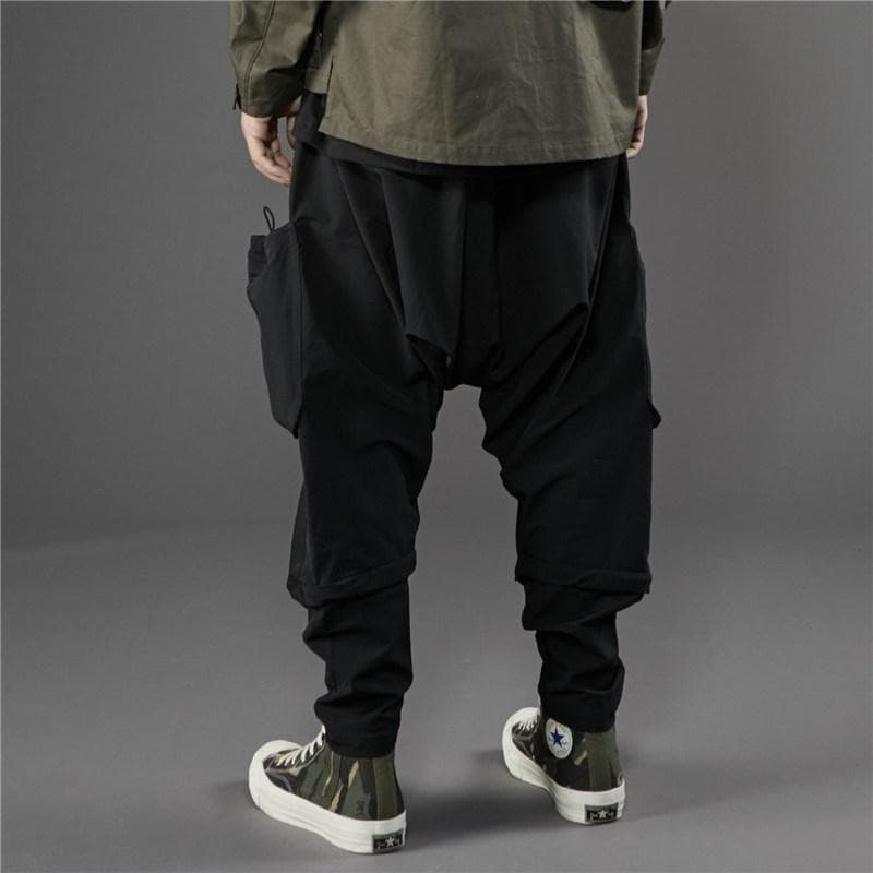 PT-1931 Tactical Harem Pants - Aesthetic Homage  | Techwear | Noragi | Lhamo | Men's Kimono
