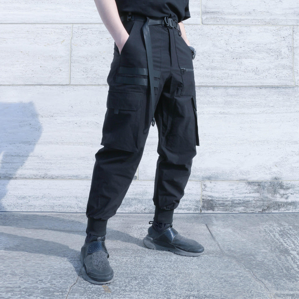 Tactical Harlan Pants - Aesthetic Homage  | Techwear | Noragi | Lhamo | Men's Kimono