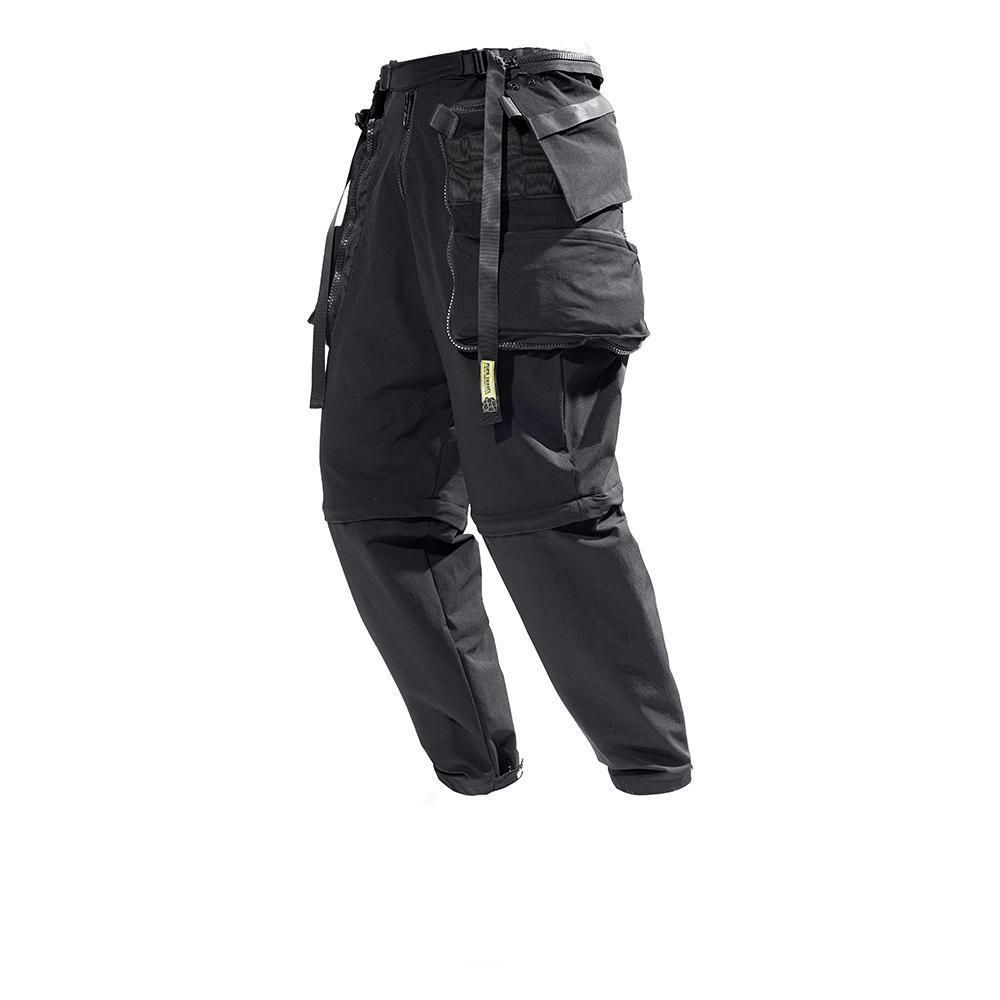 PT-827 Convertible Cargo Pants - Aesthetic Homage  | Techwear | Noragi | Lhamo | Men's Kimono