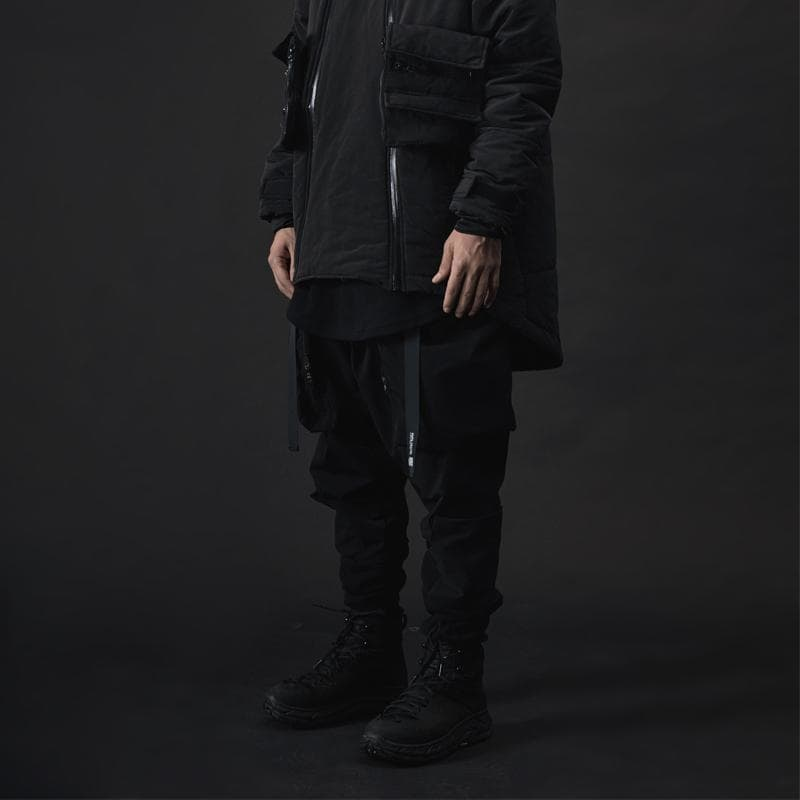 City Stealth Cargo - Aesthetic Homage  | Techwear | Noragi | Lhamo | Men's Kimono