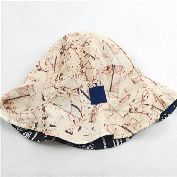Bandana Fisherman Hat - Aesthetic Homage  | Techwear | Noragi | Lhamo | Men's Kimono