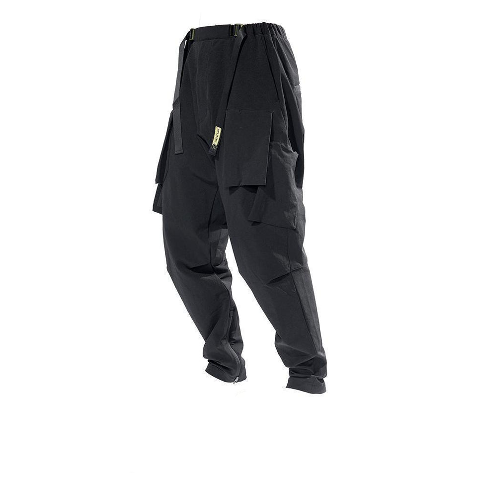 Ergonomic City Pants - Aesthetic Homage  | Techwear | Noragi | Lhamo | Men's Kimono