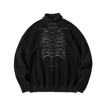 EDR-380 Bones Turtleneck