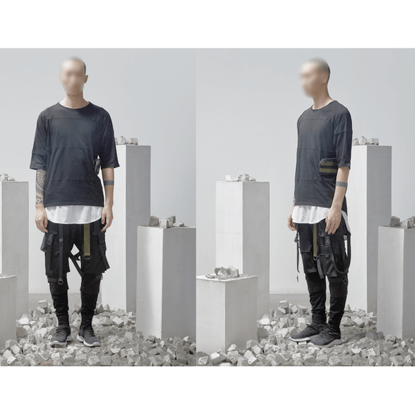 PTI-2 Tactical Pants - Aesthetic Homage  | Techwear | Noragi | Lhamo | Men's Kimono