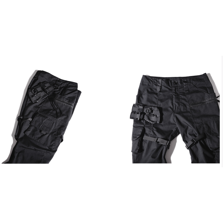 PTI-5 Tactical Pants - Aesthetic Homage  | Techwear | Noragi | Lhamo | Men's Kimono