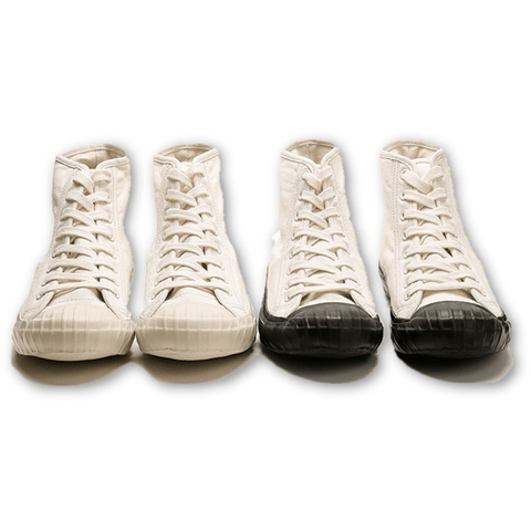 Military Canvas Trainer Mid - Aesthetic Homage | Noragi | Lhamo