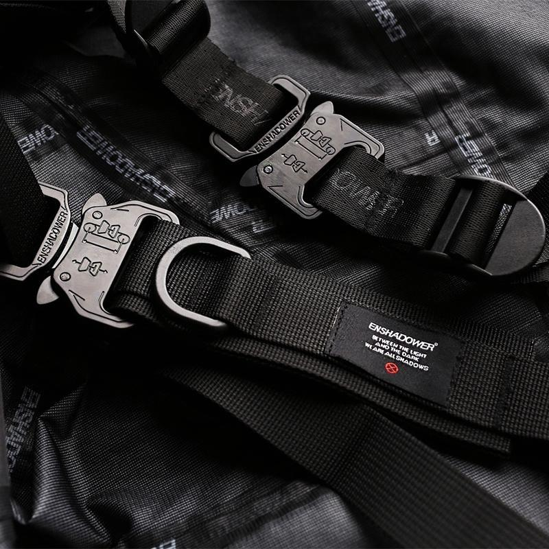 Tactical Belt - Aesthetic Homage  | Techwear | Noragi | Lhamo | Men's Kimono