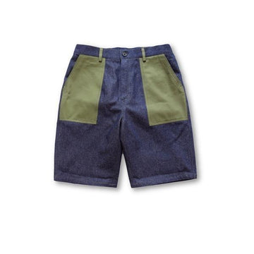 Military Patch Shorts