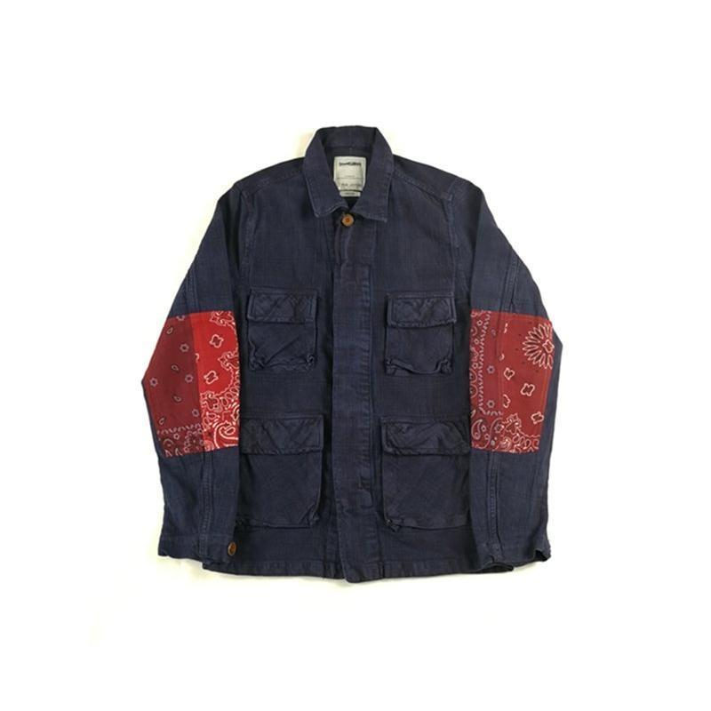 Bandana Patch M43 Jacket - Aesthetic Homage | Noragi | Lhamo